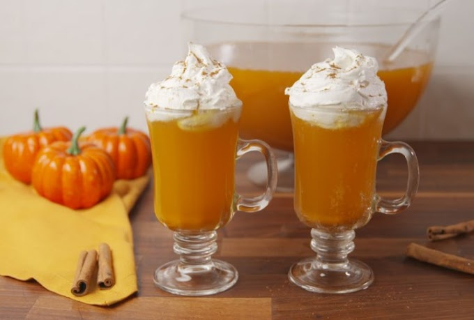 Pumpkin Pie Punch #drinks #party