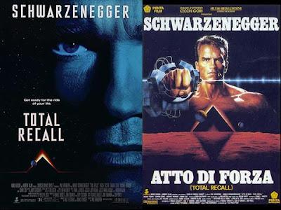 La locandina del film Total recall / Atto di forza