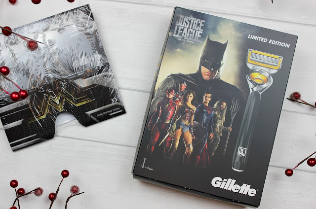 A review of Gillette Justice League Limited Edition Mach3 Turbo Gift Pack