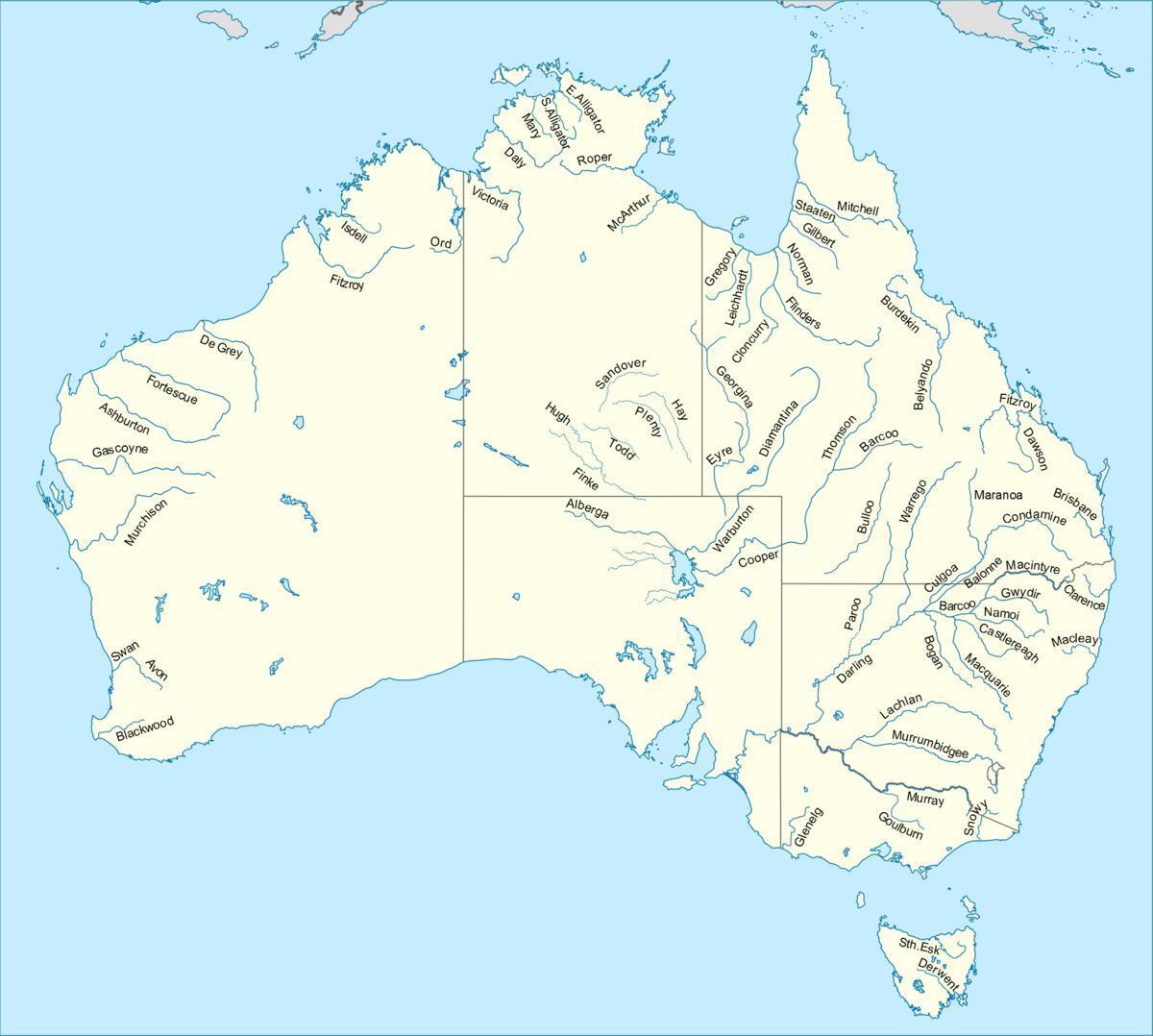 Rios da Austrália