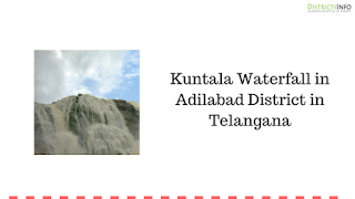 Kuntala Waterfall in Adilabad District