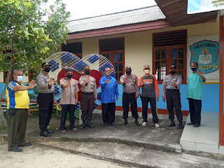 Operasi Bina kusuma Seligi 2020, Sat.Binmas Polres Lingga Melaksanakan Penyuluhan dan Himbauan