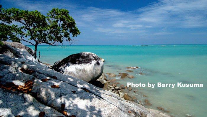 Pantai Teluk Uber di Bangka Belitung
