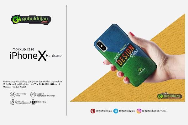 Mockup Custom Case iPhone X by gubukhijau