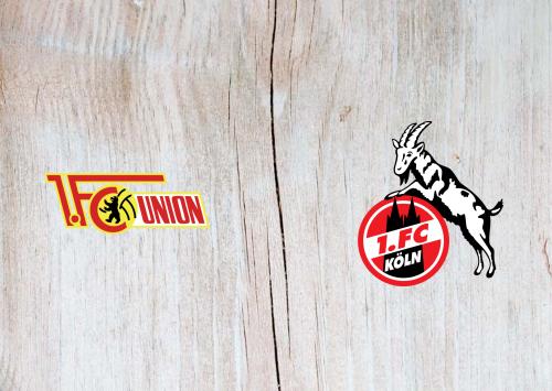 Union Berlin vs Köln -Highlights 13 March 2021