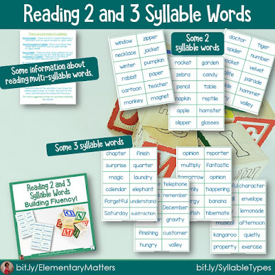 https://www.teacherspayteachers.com/Product/Reading-Two-and-Three-Syllable-Words-245510?utm_source=blog%20post%2046b&utm_campaign=multisyllable%20words