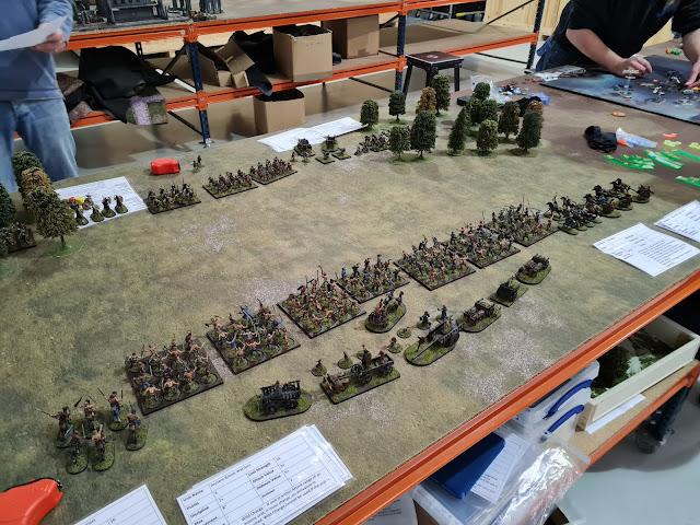 Battle of Wattling Street warlord games boudica boudicca SEEMS wargames club essex gaming gamers