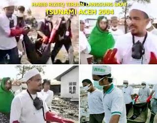 16 Tahun Tsunami Aceh, Atjeh Sultanate Sampaikan Terima Kasih Kepada FPI dan Habib Rizieq
