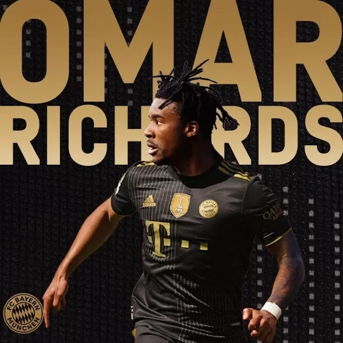OFFICIAL: Bayern sign 23-year-old defender Omar Richards on a free transfer