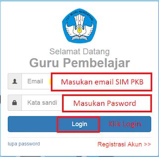 Cara cek Info GTK di SIM PKB lengkap dengan gambar