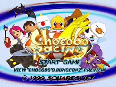 chocobo racing psx