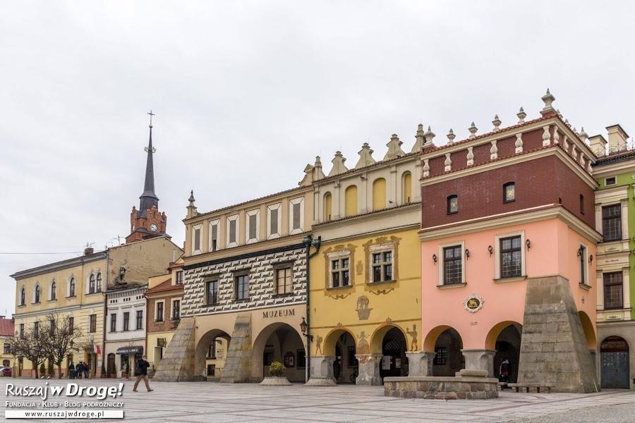 Kamieniczki na rynku w Tarnowie