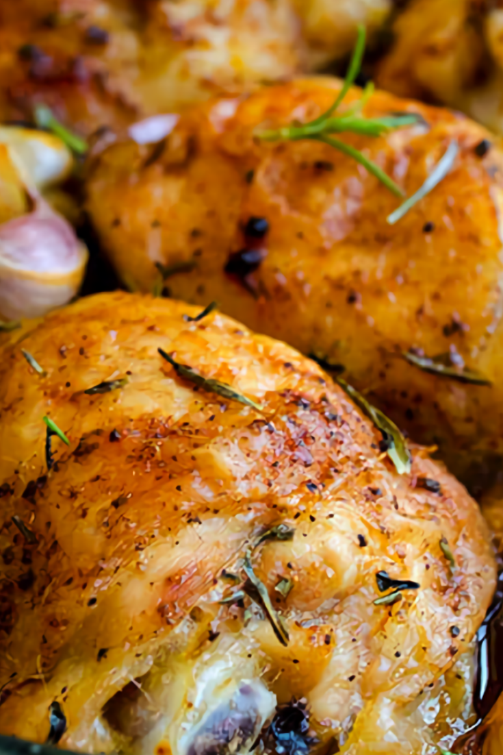 Simple Roasted Chicken Pieces