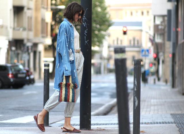 La tendencia de los pantalones SLOUCHY