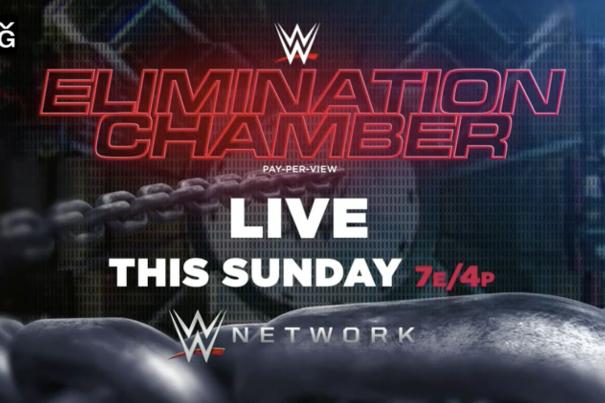 "Possível grande ""spoiler"" de luta por título no WWE Elimination Chamber"