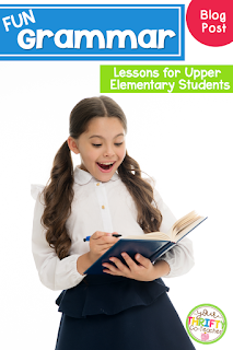 Fun grammar activities that will engage your upper elementary students.