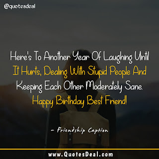 Best Friendship Captions For Birthday Wishes