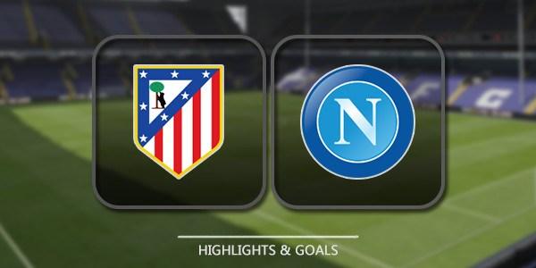 Napoli Vs Atletico Madrid