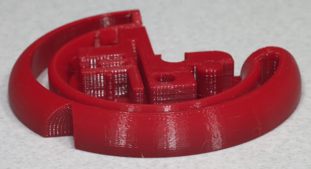 test print with the stepper motors