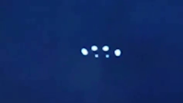 UFO with lights over New Jersey.