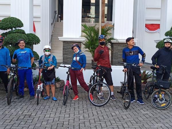 Sepedaan Perdana Cikini Ke Kota Tua