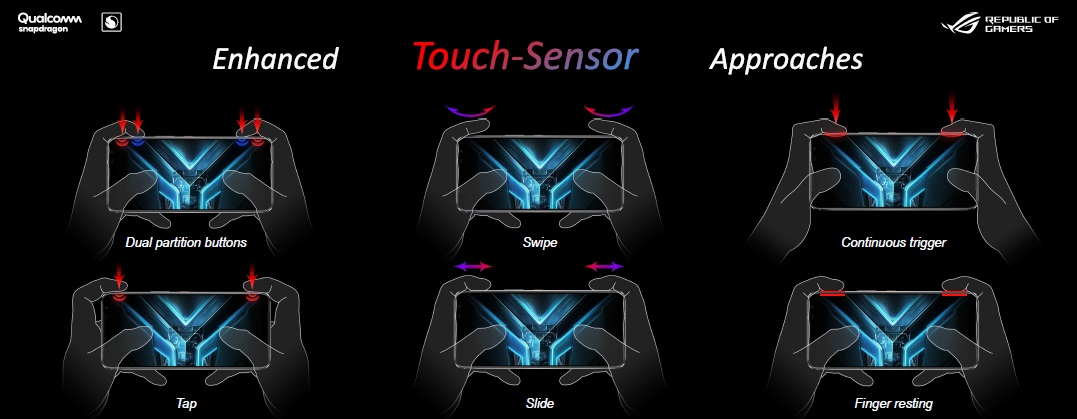 Fitur AirTrigger ROG Phone 3