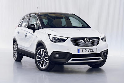 Vauxhall Crossland X (2017) Front Side
