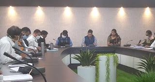 टीएल बैठक में कलेक्टर ने दिये अधिकारियों को निर्देश