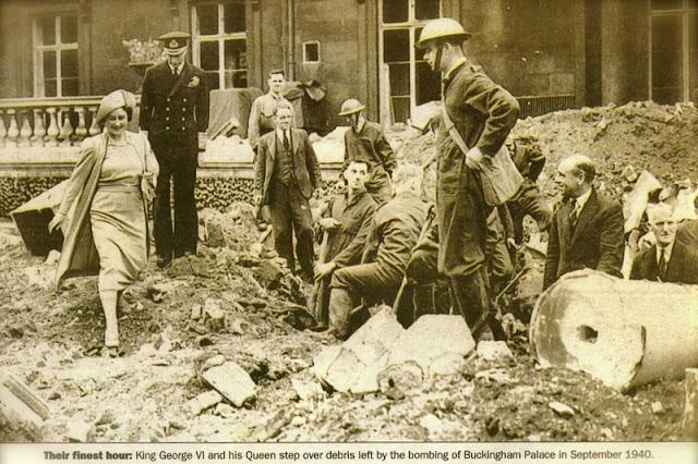 13 September 1940 worldwartwo.filminspector.com Buckingham Palace King George Queen