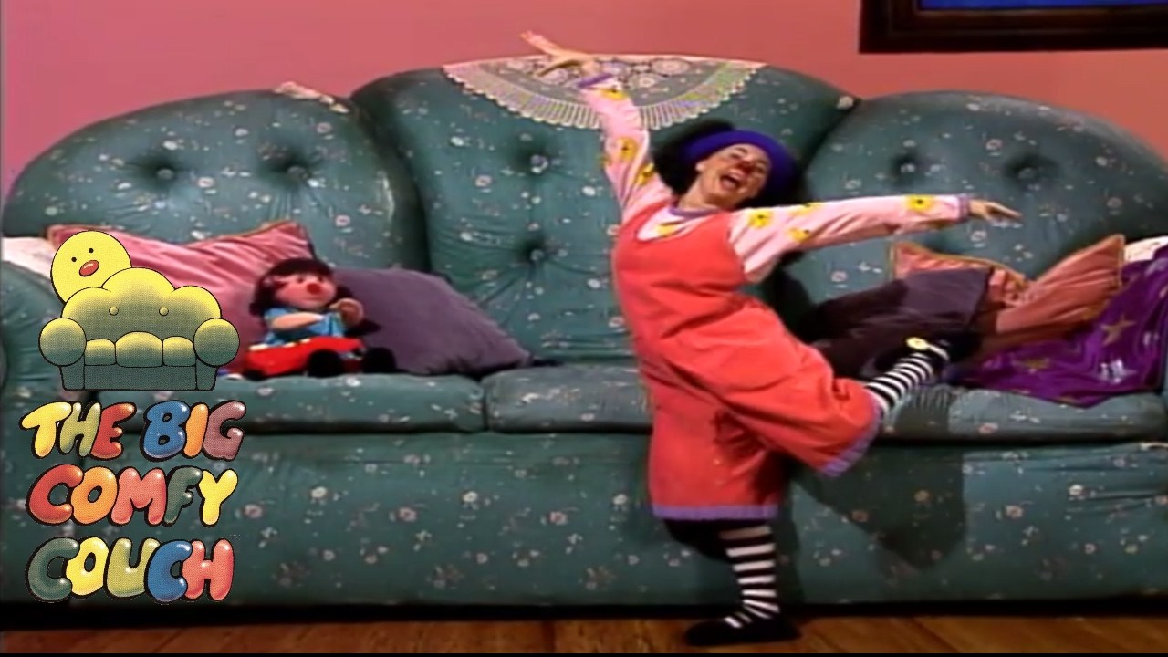 Big Couch Clown The Big Comfy Couch