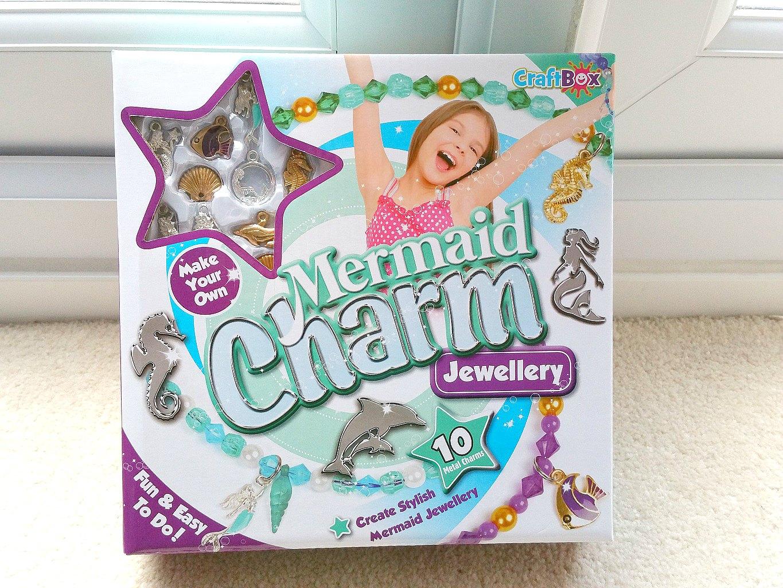 Interplay Mermaid Charm Jewellery, Mermaids, Children charm jewellery kit