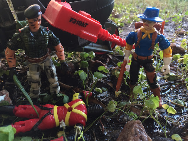 1992 Wild Bill, Duke, 2000 Locust, 1988 Destro, 1991 BAT, 1993 Cross Country, 1986 General Hawk, Night Force, Flint, 2004, Crimson Guard Commander, STUN