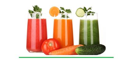 فوائد عصير الخضروات