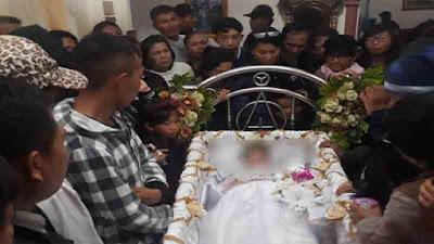 Jenazah Diduga Membunuh Istri, Tiba di Rumah Keluarga