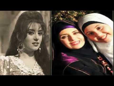 اول ظهور للفنانة جيهان نصر بالحجاب مع نجلتها