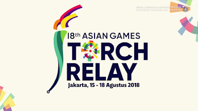 pawai arak Torch Relay Asian Games 2018