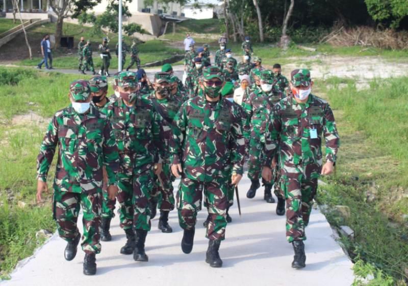 Mayjen TNI Irwansyah, Berkunjung ke Wilayah Batam dan RSKI Covid-19 Pulau Galang