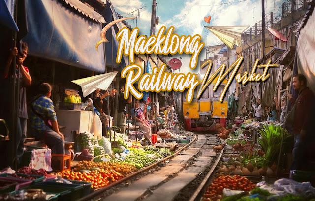Được mệnh danh là thiên đường mua sắm ở Đông Nam Á, Bangkok - Thái Lan không chỉ thu hút khách du lịch nhờ vào những trung tâm thương mại lớn mà còn bởi hàng loạt khu chợ độc đáo. Một trong số đó phải kể đến chợ đường ray Maeklong Railway Market - khu chợ trời độc đáo  mà bạn không nên bỏ lỡ nếu có dịp ghé thăm đất nước chùa vàng này.