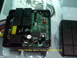 Mengenal sparepart dan bagian dalam alarm motor remote