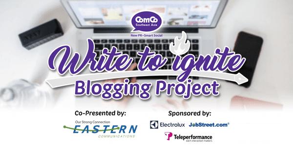 Write to Ignite Blogging Project