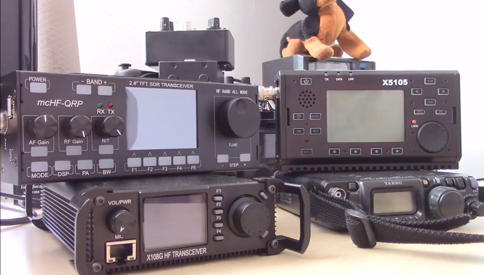 Ham Radio Canada: QRP Rig Comparison , FT817 / X108G / X5105