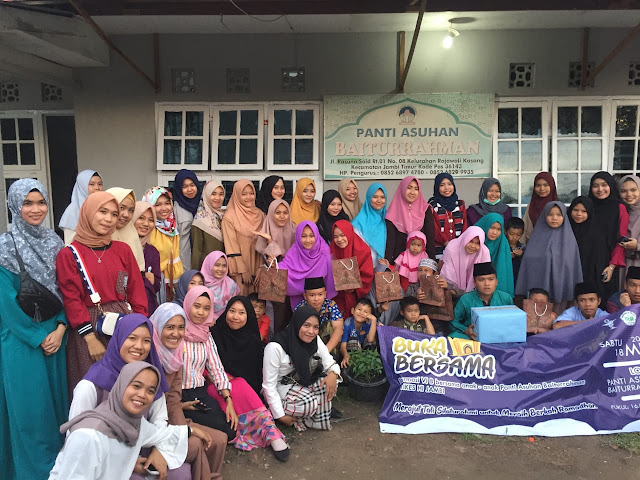 HIMAFA STIKES Harapan Ibu Berbagi Bersama Anak Panti Asuhan Baiturrahman
