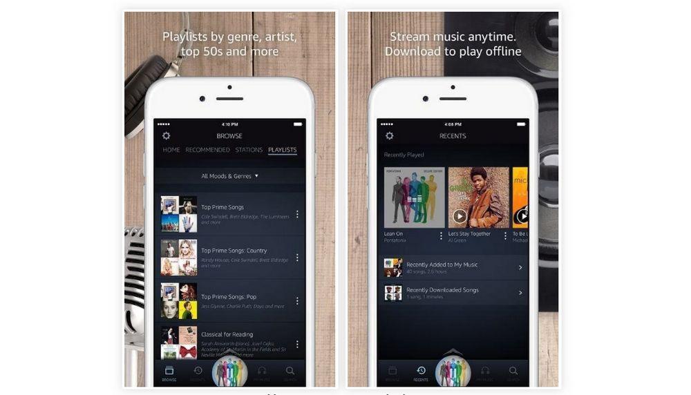 Aplikasi Amazon Music (gadgethacks.com)