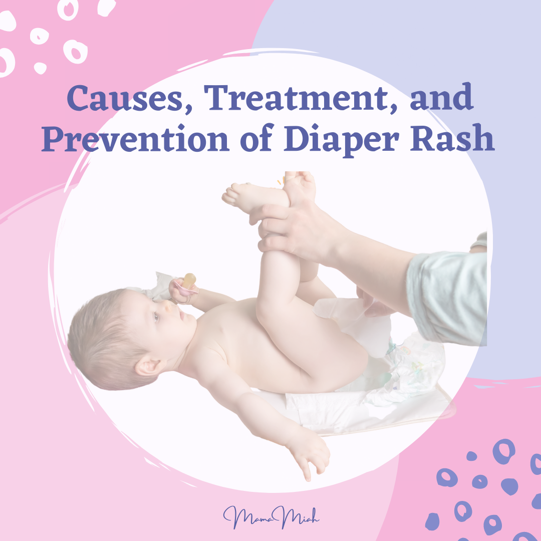 Causes, Treatment and Prevention of Diaper Rash