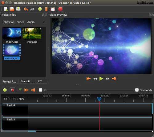 برنامج أوبن شوت محرر الفيديو المحمول