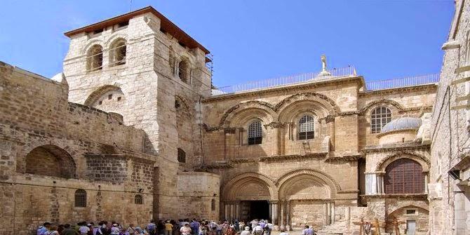 5 Tempat ini Sangat Dikeramatkan Oleh Umat Kristen