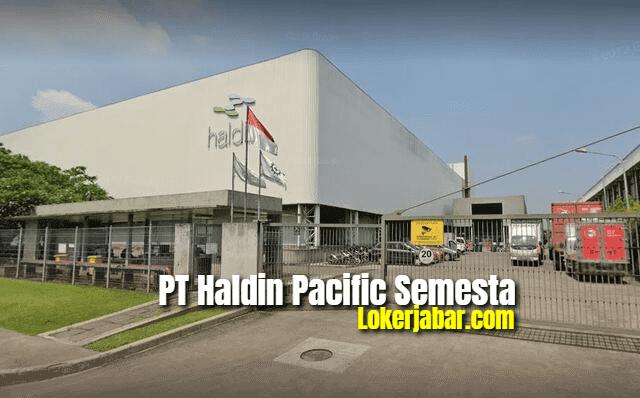 Lowongan Kerja PT Haidin Pacific Semesta Via Email