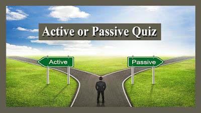 Active or Passive Quiz