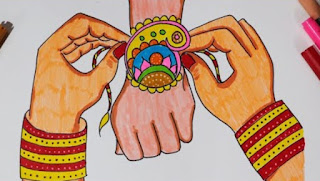 Raksha Bandhan drawing picture download
