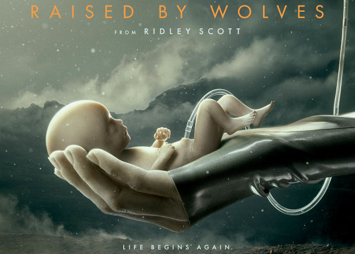 Raised by Wolves - First Look Promo, Key Art + Premiere Date